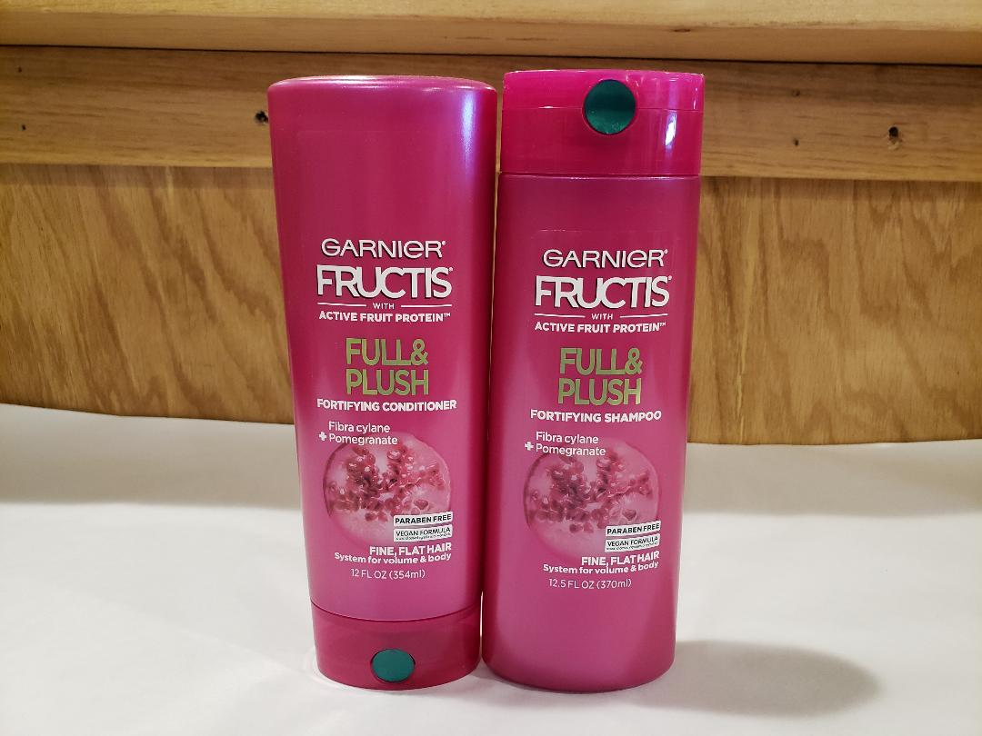 Garnier Fructis Full & Plush Shampoo & Conditioner Set